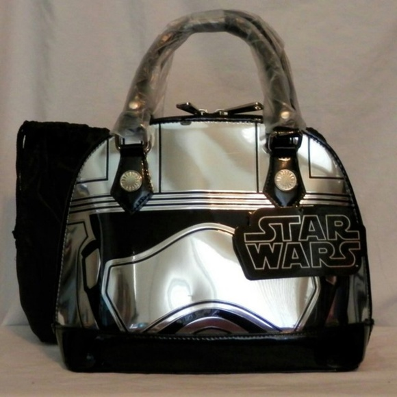 ed3c9c145b28bc Loungefly Bags | Star Wars Captain Phasma Ltd Ed Bag Nwt | Poshmark